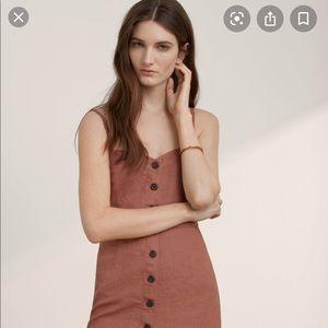 GUC Aritzia Wilfred Ducharme linen dress - 8